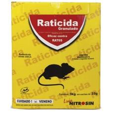 13381 - RATICIDA GRANULADO NITROSIN 120X25G