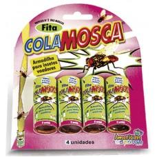 3790 - FITA COLA MOSCA BLISTER C/04 UNIDS (08)