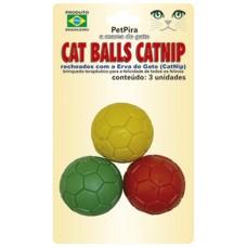 10440 - CATBALL CATNIP PET PIRA C/3 UNIDADES