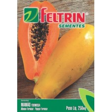 303 - SEMENTE FELTRIN MAMAO  FORMOSA C/25